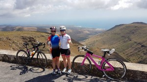 Primed Coaching training camp in Lanzarote in preparation for taking on Ironman Lanza.